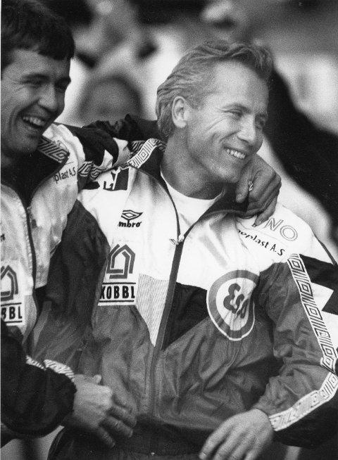 Sølvtrener: Per Brogeland i 1992.