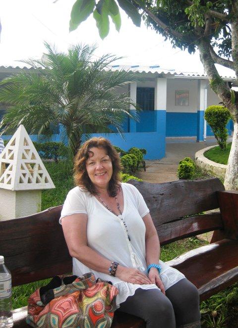 Nysgjerrig: - Det var nysgjerrighet som drev meg til denne reisen til Brasil, forteller Solveig Worum.