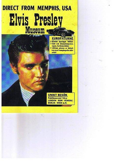 PÅ UTSTILLING:  Det er ikke så mange som har sett en Stutz i virkeligheten. Noen av leserne husker kanskje et eksemplar som var utstilt på en Elvis-utstilling på Gjøvik. Kunne det vært tidlig på 1980-tallet, mon tro? I utstillingsprogrammet kunne man lese at Stutz var favorittbilmerket til Elvis.