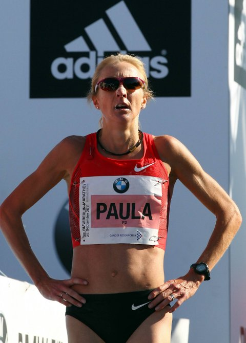 Paula Radcliffe har fortsatt verdensrekorden på maraton.