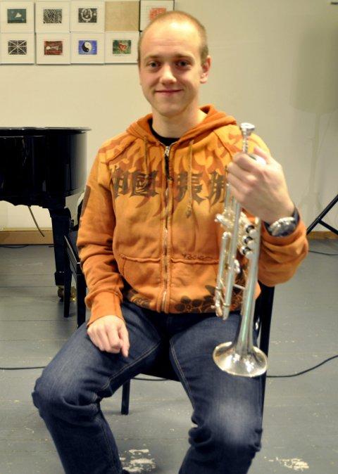 HAR ARRANGERT: Anders Brasetvik har sammen med Øyvind Lunde arrangert musikken for denne konserten.