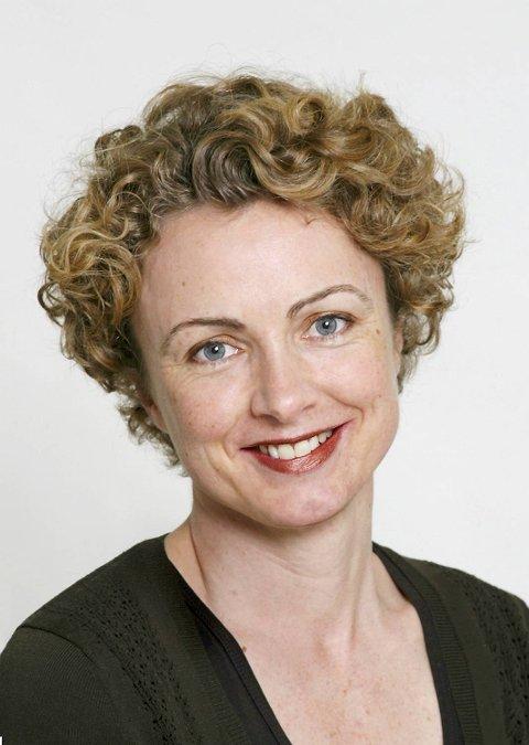 OVERGLEGE: Ingeborg Bacmann er overlege ved hudavdelingen på Haukeland sykehus.
