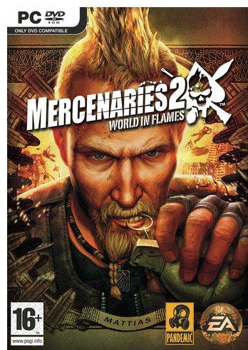 ACTION: Knallharde leigesoldatar og mykje sprengstoff er tanken bak Mercenaries 2 - World in Flames.