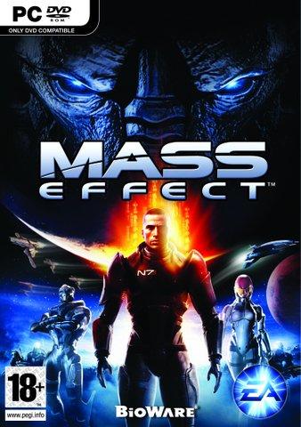 STORT ROLLESPEL: PC-versjonen av Mass Effect kjem på 2 DVD-plater.