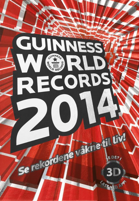 BOK   Guinness World Records 2014   Schibsted forlag