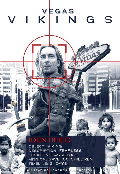 Omslaget til filmen «Vegas Vikings».