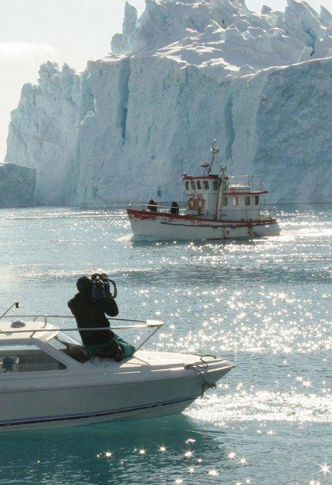 GENUINT: Grønland er et av verdens siste tilnærmet genuine naturlandskaper ¿ uten særlige inngrep. Hva blir framtida når man vet at det i de samme områdene kan finnes uante muligheter for industrialisering, gruvedrift, olje- og gassutvinning. Foto: Ragnhild Enoksen