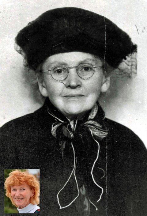 TALSKVINNE: Ellisif Wessel var en ivrig talskvinne for fiskere, arbeidere og alle som var fattige. Innfelt kronikkforfatter Randi Rønning Balsvik. Foto: Sør-Varanger Museums fotosamling