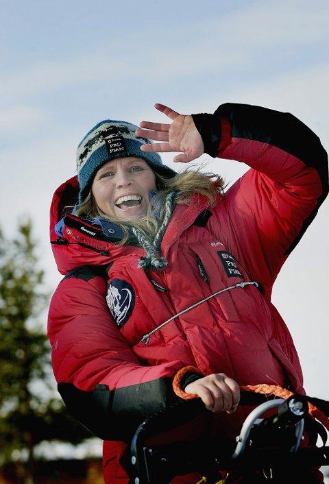NUMMER 1: Nina Skramstad starter først av de som kjører den lengste løypa.