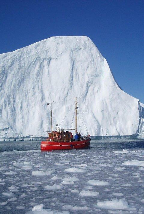 KAPPLØP: «Kappløpet om Arktis» er i første rekke en kamp for å sikre gode tilpasningstiltak mot klimaendringene og sørge for at tilstrekkelige reguleringstiltak er på plass før transport og ressursutvinning eventuelt skyter fart i området. Illustrasjonsfoto