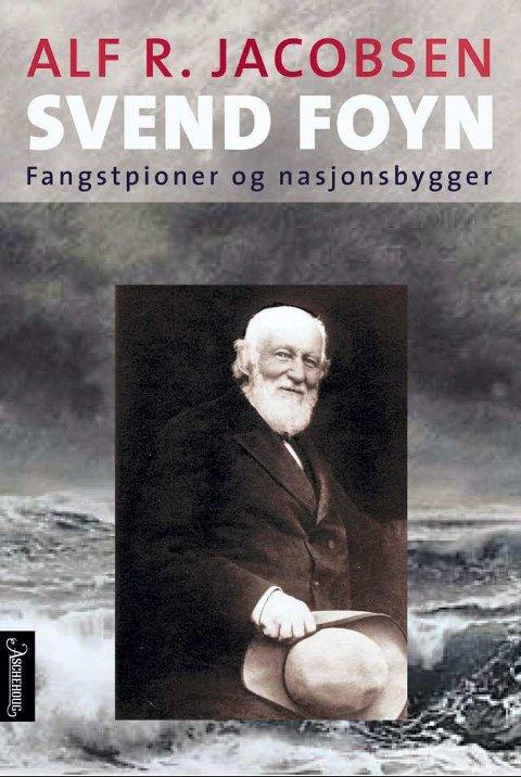 Biografi: Alf R. Jacobsen har forfattet biografien om Svend Foyn, fangst-mannen som trolig er mest kjent for sin oppfinnelse av harpungranaten. (Foto: Ascheoug)