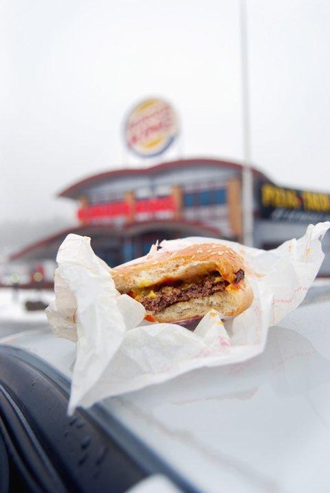 Burger King Svinesund benytter egne valutakurser når nordmenn handler hos dem.