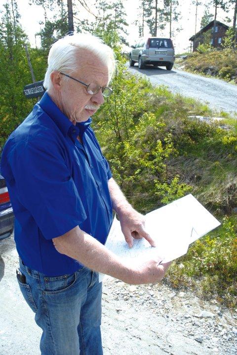 Christian Ihlen er en av grunneierne som har bygd hytter med velsignelse fra planer Sigdal kommune ikke har fått godkjent.