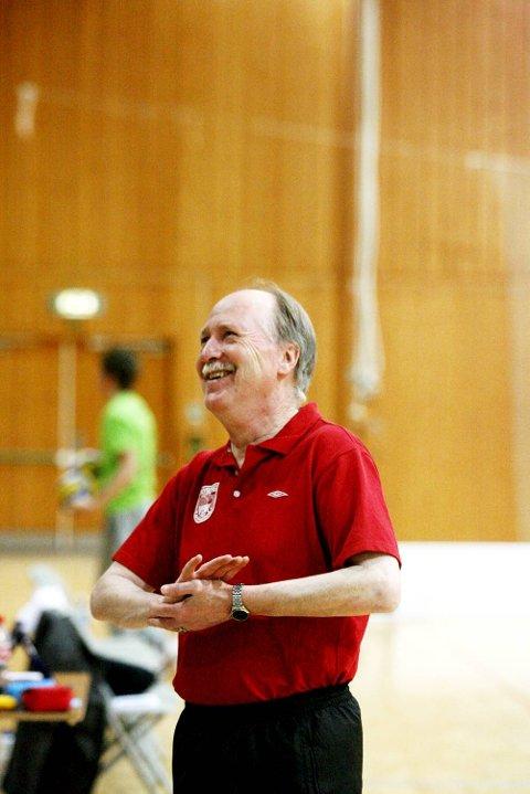 Nyborg-trener Ivar Bakken.
