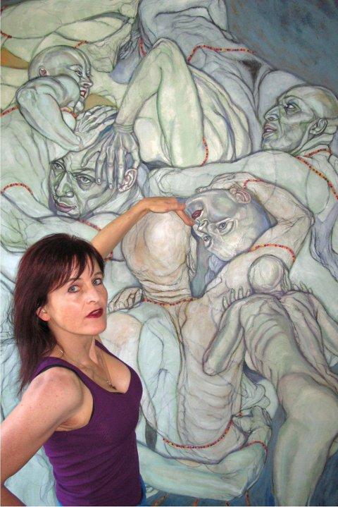 nytt galleri: Den New York-bosatte Valdres-kunstneren Sol Kjøk er initiativtaker til et nytt galleri på Manhattan som i vinter presenterer 28 norske kunstnere. arkivbilde