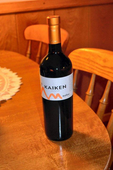 Kaiken. rødvin