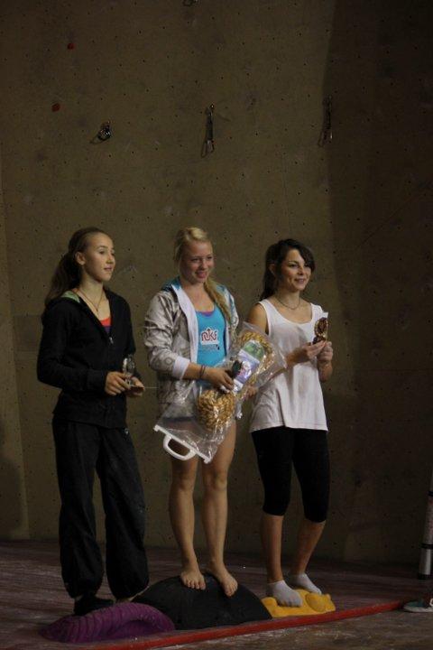 Bodøjenta Martine Limstrand er fersk Nordisk juniormester i klatring.