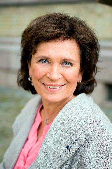 Bente Stein Mathisen fra Eidanger sitter som stortingsrepresentant for Akershus.