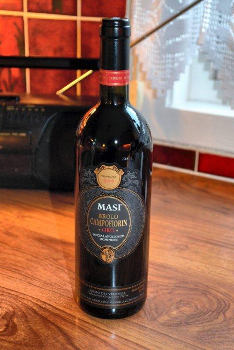 Masi Brolo de Campofiorin. Rødvin.