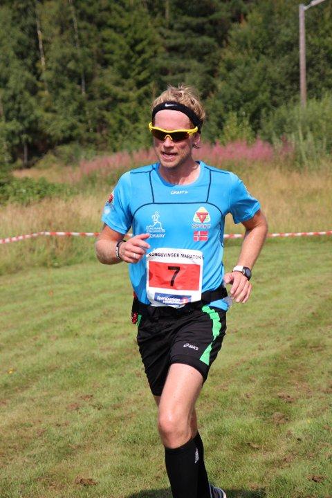 MÅTTE GI SEG: Kongsvinger-gutten Jimmy Vika klarte ikke å fullføre grunnet magesmerter.