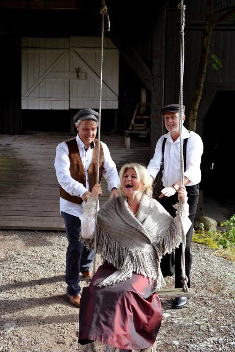 Ann Kristin Aannerud er ofte ensbetydende med vakker sang og underholdning ispedd humor.