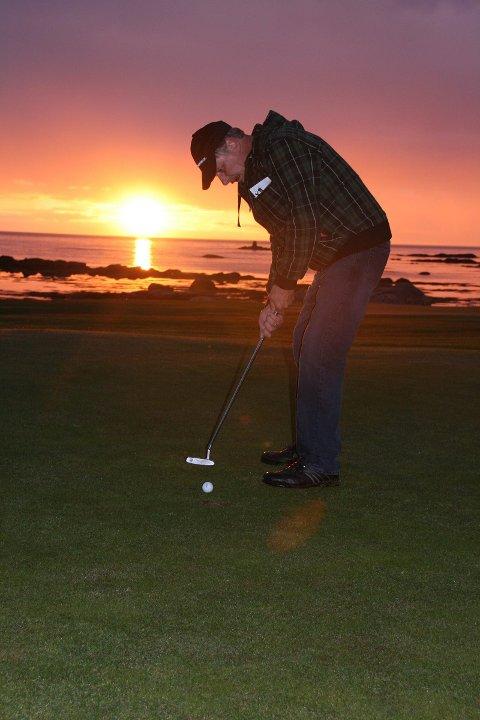 NNM: Lofoten golfklubb inviterer til NNM på Gimsøy i helga.