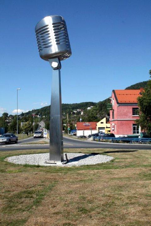 NOTODDEN NÅ: Slik ser altså dagens monument ut.