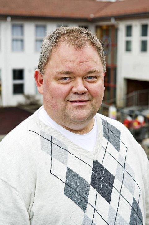 Rektor ved Hellen skole, Dag Hugaas. (arkiv)
