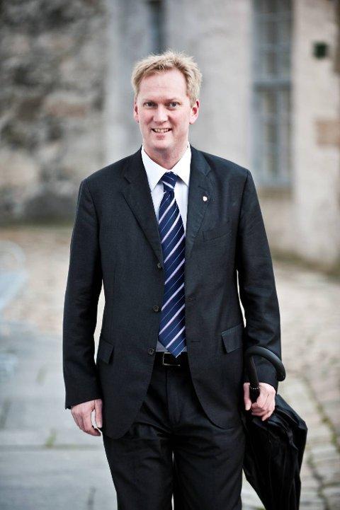 Harald Schjelderup, Aps gruppeleder i bystyret, p.t. i pappaperm