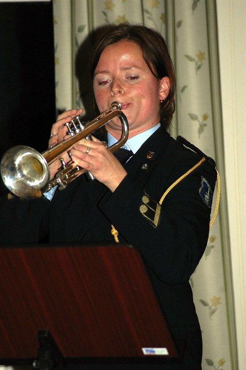 SOLIST:  BMK kan velge og vrake i solister og i går var det Ellen Gullhaug som fikk det ærefulle oppdraget.