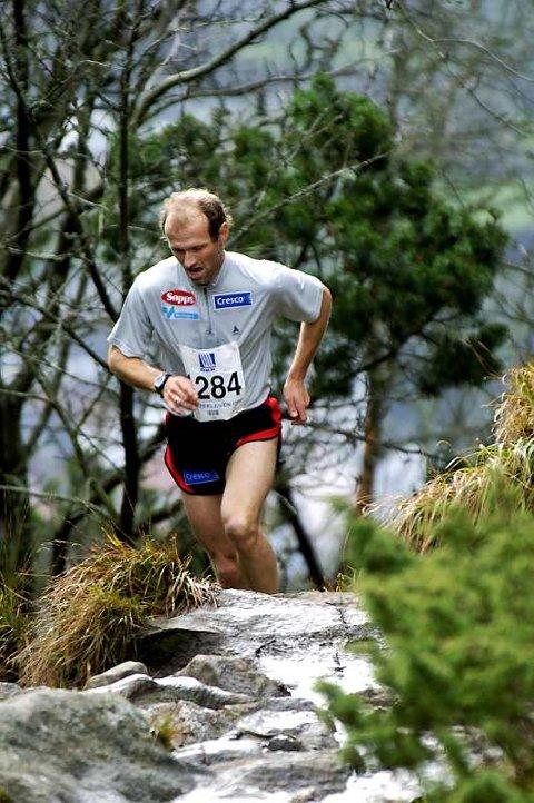 Kristen Skjeldal har deltatt på Stoltzekleiven opp mange ganger. Dette bildet er fra 2005.