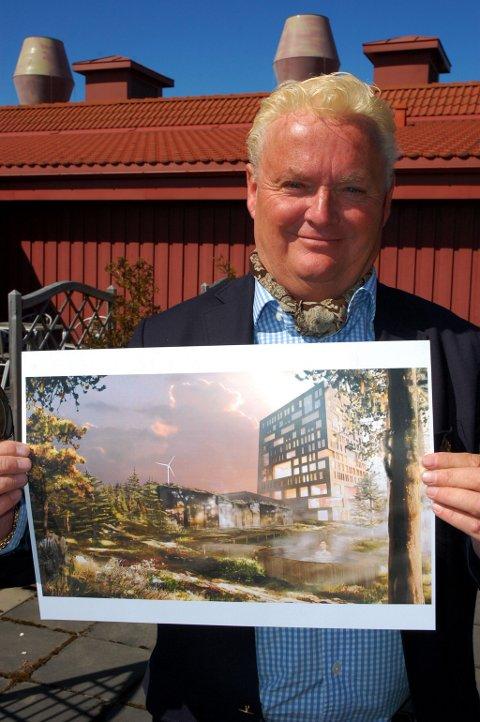 BISLINGEN: Velkommen til åpning i 2012, sier advokat Håkon Ø. Schiong.