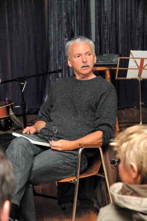 foredrag: Bernt Eide holder foredrag på torsdag i Gjøvikhallen.