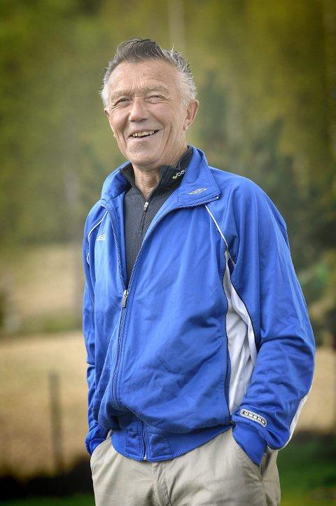 I RUTE: Maraton-ildsjel Rolf Hansen er i rute med planleggingen av årets Kongsvinger Maraton.