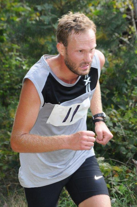Erik Solfjeld var beste lokale løper i herreklassen.