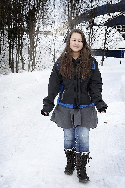 HAR DET BRA: I dag har Emma Haugerud samboer i Mosjøen og har det bra.
