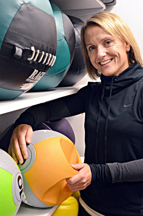 Jentene er litt mer ekstreme enn tidligere, sier Grete Larsen, daglig leder ved Treningssenteret i Kristiansund.