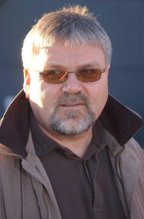 Lars Lie, ordfører i Fjell kommune.