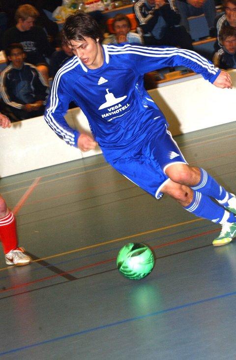 NUMMER TO: Vega Futsal ble nummer to i kvaliken i Bergen. Thomas Klausen scoret som vanlig mesteparten av målene for Vega.