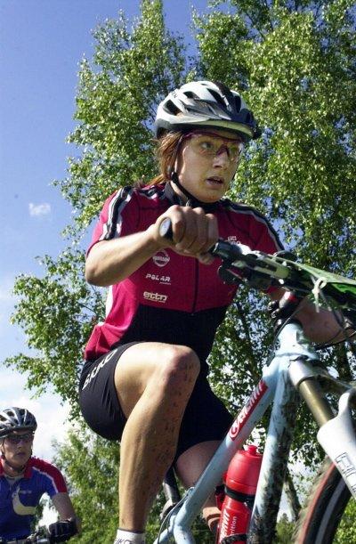 VUNNET TO: Åsa Erlandsson fra Gøteborg har vunnet to av de tre første rittene i Långloppscupen.  I helga ble hun nummer fire.