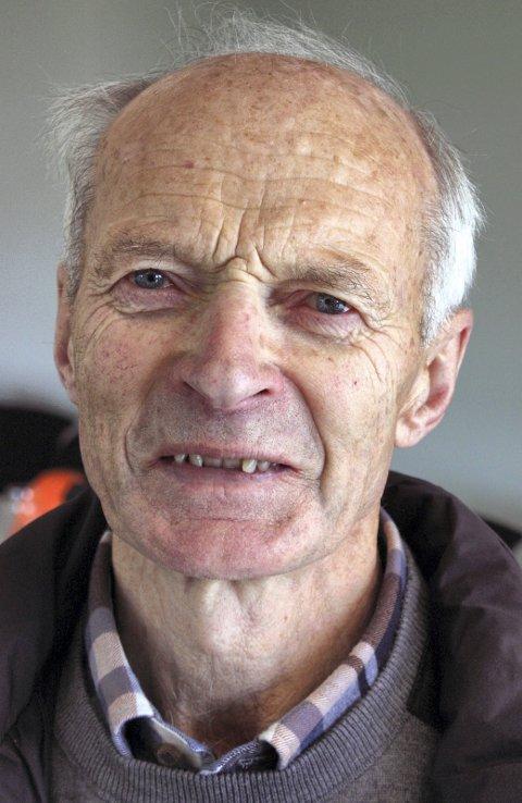 KJENDIS: Erling Steineide fra Sel, OL-deltaker i langrenn i 1964, var med og bygde motorveien.