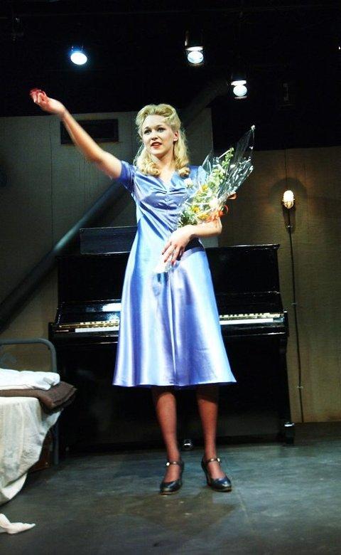Til teaterhøgskolen. Marie Liland Kristensen (23) fra Nordland Teater. Foto: Hans Trygve Holm