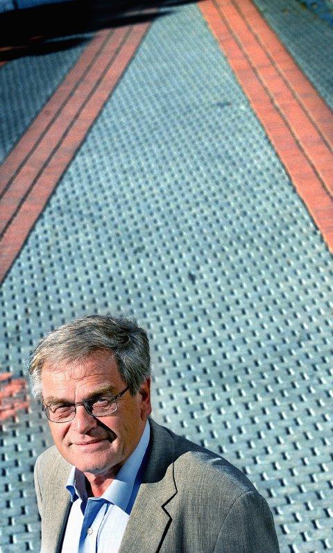 SLUTTER: Etter valget blir fylkesordfører Arne Øren pensjonist. Nye veier og utfordringer venter. (Foto: Jarl M. Andersen)