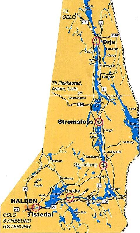 kart haldenvassdraget Rakkestad Avis   Den populære vannveien kart haldenvassdraget