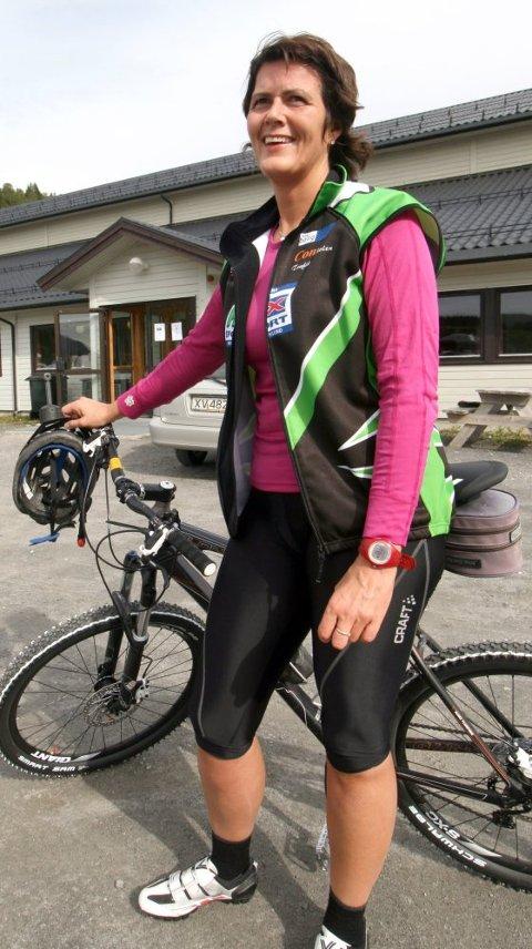 TRIM:  Rene Dahle fra Sømna har ikke så mange mil bak seg, men satser på å gjennomføre Fredagsbirken.
