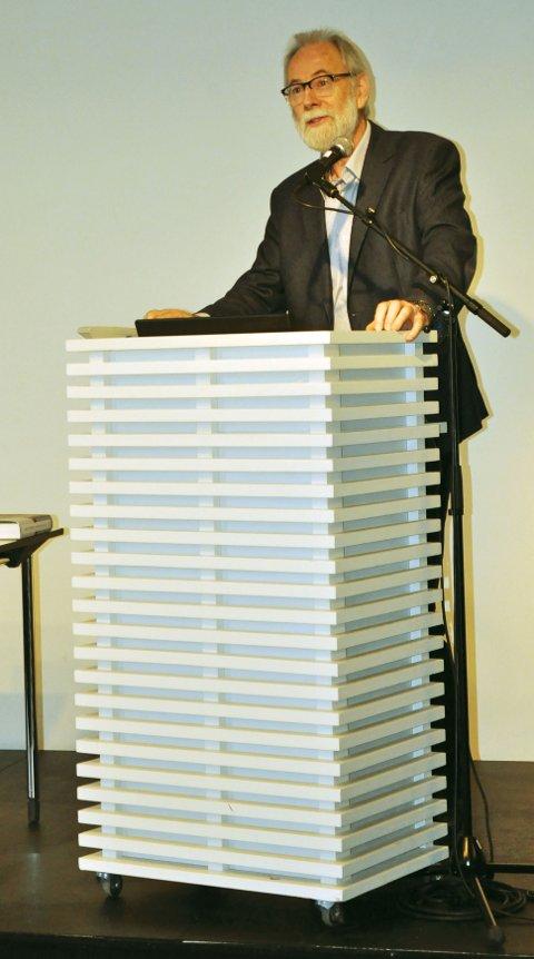 Forfatter Arild Stubhaug er blant annet kjent for sine tidligere biografier om Niels Henrik Abel og Sofus Lie. Foto: Skibsaksjeselskapet Hesvik