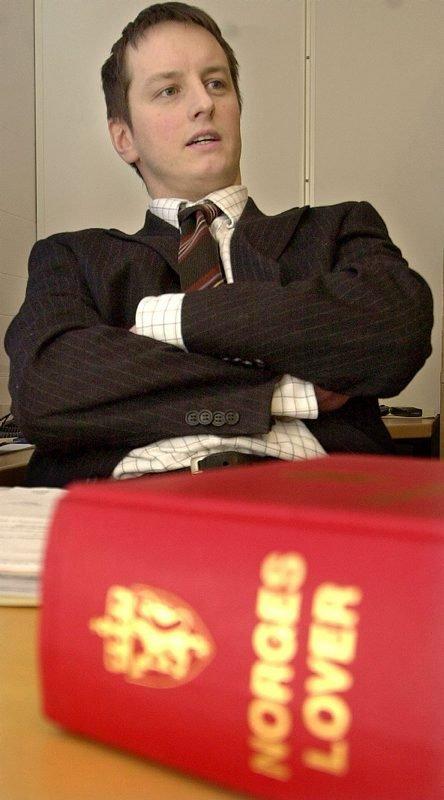 Beinhard motstand. ? Min klient møtte beinhard motstand fra et forsikringsselskap som prøvde å hale ut tiden, sier advokat Olav Martin Jentoft jr. Foto: Rune Nilsen