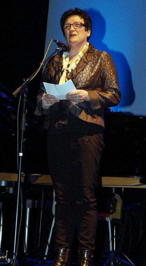 Fylkesmann i Nordland, Hill-Marta Solberg, åpnet kulturuka 2013.