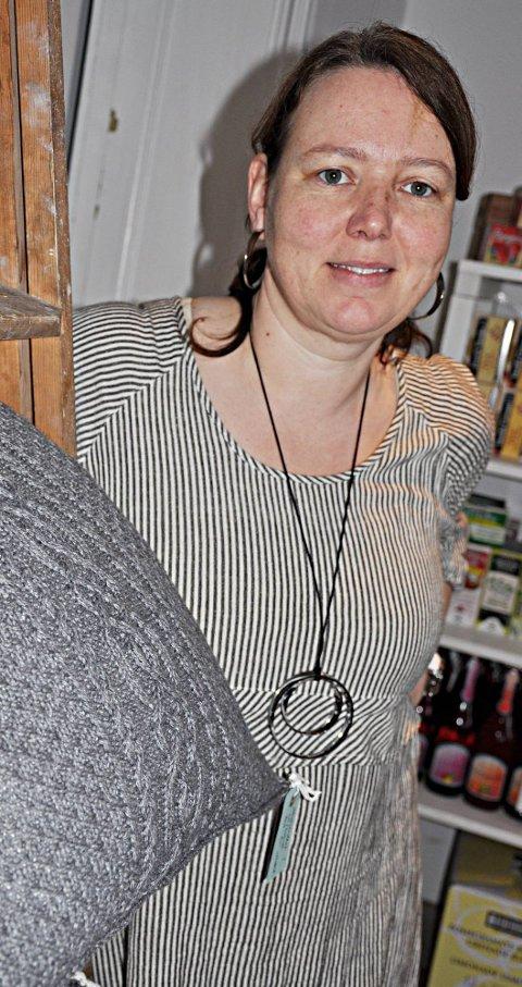 Kaféeier: Kari Merete Auten og Dagsenteret Grinitun er to lokale aktører som selger «etterkommere»i etter Albin.