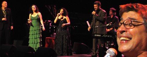 New York Voices synger med Ivan Lins i Harstad Kulturhus.